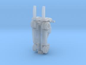 SCA35t forklift rev2 in Smoothest Fine Detail Plastic: 1:200