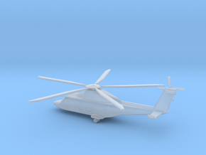1/400 Scale AW169M Helicopter in Smooth Fine Detail Plastic
