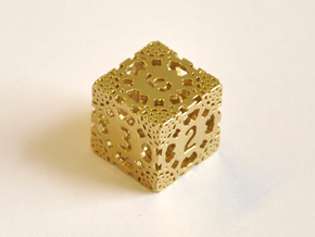 D6 Balanced - Lace in Natural Brass