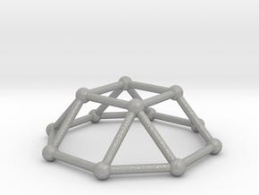 0729 J04 Square Cupola V&E (a=1cm) #2 in Aluminum