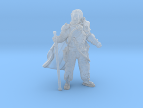 Aged Partisan Leader in Smoothest Fine Detail Plastic