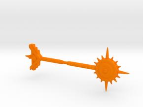 Pharoid Weapons in Orange Processed Versatile Plastic
