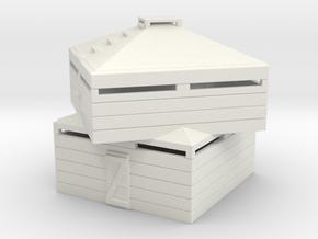 BLOCKHOUSE in White Natural Versatile Plastic