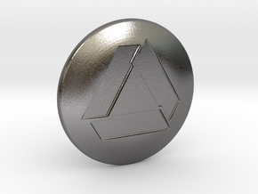 Shooter Knob - Total Nuclear in Polished Nickel Steel