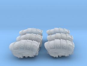 6 Questoris Rocket Pod in Smoothest Fine Detail Plastic