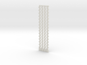 HOea11 - Architectural elements 1 in White Natural Versatile Plastic