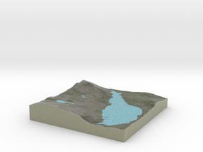 Terrafab generated model Sat Apr 21 2018 16:29:25  in Natural Full Color Sandstone