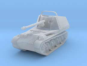 Marder III scale 1/160 in Smooth Fine Detail Plastic