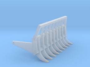 1:50 NZG Cat D4 Root rake. in Smooth Fine Detail Plastic