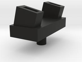 Launcher stand in Black Natural Versatile Plastic