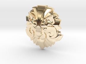 Dota 2 Medallion of Courage I in 14k Gold Plated Brass