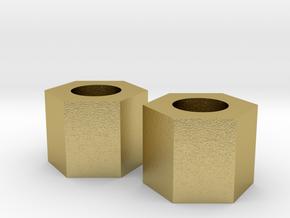 Orginal Brass Nut Custom for C-300 in Natural Brass