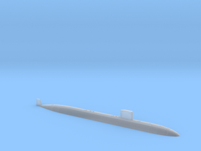 SSN-760 ANNAPOLIS 1250 WATERLINE 20180827 in Smooth Fine Detail Plastic
