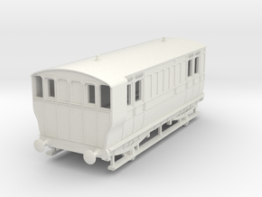 o-76-ger-mslr-4w-brake-coach-no1-1 in White Natural Versatile Plastic