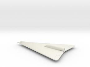 (1:144) Horten Ho X (Entwurf I) in White Natural Versatile Plastic