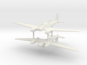 1/285 (6mm) Focke-Wulf Fw-57 (x2) in White Natural Versatile Plastic