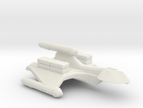 3788 Scale Romulan SparrowHawk-H+ Cargo Transport in White Natural Versatile Plastic