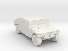 m966 285 scale in White Natural Versatile Plastic