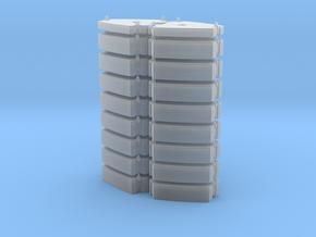 Ballast 170t 16x10t+2x5t in Smooth Fine Detail Plastic