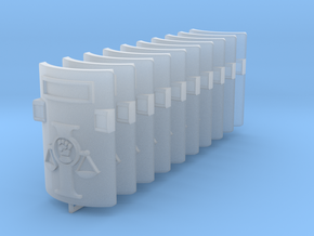 Judges Riot Shields #1 in Smooth Fine Detail Plastic