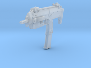 1/16th MP7 Retracted in Smoothest Fine Detail Plastic