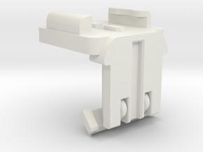 90 degree Invertor for standup & selfie cases ... in White Natural Versatile Plastic