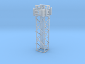 Light Tower Middle Cell Site 1-87 HO Scale in Smooth Fine Detail Plastic