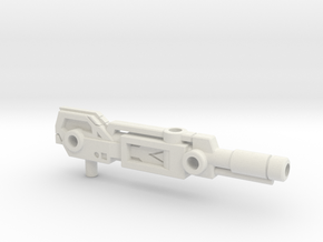 The Big Boom Combiner Cannon (5mm) in White Natural Versatile Plastic