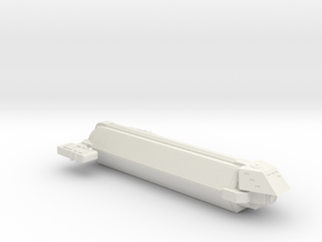 Omni Scale Kzinti Small Freighter (Class-I) SRZ in White Natural Versatile Plastic