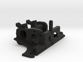 FR02 Motor Mount in Black Natural Versatile Plastic
