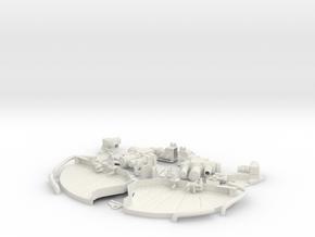 Skymaster F-16 1:5 Scale Gear Bay in White Natural Versatile Plastic