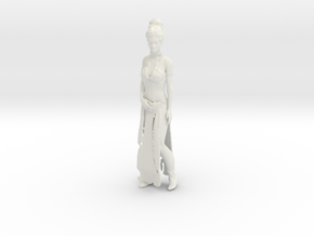 Printle V Femme 1288 - 1/24 - wob in White Natural Versatile Plastic