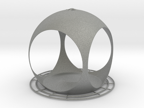 Quasisph. Birdfeeder (downloadable) in Gray Professional Plastic