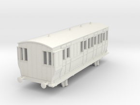o-87-hb-brake-3rd-coach-1 in White Natural Versatile Plastic