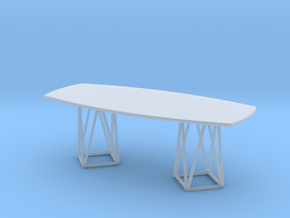 Miniature Joco Dining Table - Walter Knoll in Smooth Fine Detail Plastic: 1:12