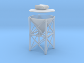 "'N Scale' - 1"" PVC Dust Collector in Smooth Fine Detail Plastic"