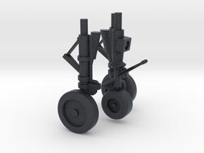 1/100 scale F-35 Gear in Black Professional Plastic