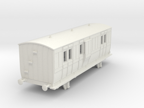 o-76-hb-luggage-brake-coach-1 in White Natural Versatile Plastic