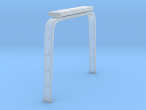 Rollback Roll Bar in Smooth Fine Detail Plastic