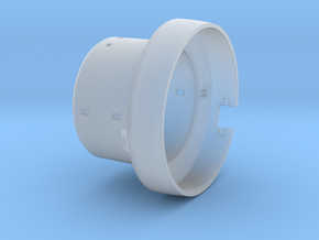 ServiceModule_Fuselage in Smooth Fine Detail Plastic