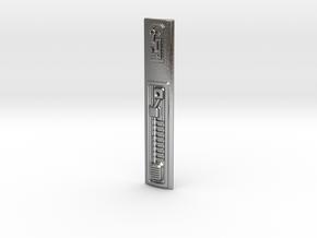 Graflex Mentor - Var2 Part13 - Power Cell Cover in Natural Silver