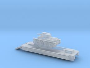 Panzerzüge  Panzerträgerwagen armored train 1/144 in Smooth Fine Detail Plastic
