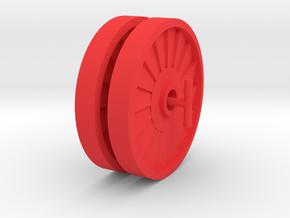 Spartak Spinners in Red Processed Versatile Plastic