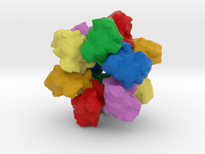CaM Kinase II in Natural Full Color Sandstone