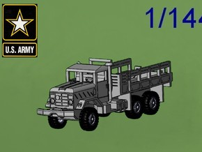 M923 5t Cargo Truck in Green Strong & Flexible Polished: 1:144