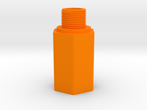 HK 3 Lug to 14mm- Barrel Adapter for MP5K AirGun in Orange Processed Versatile Plastic