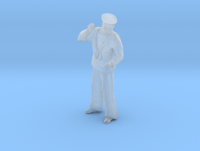 1/35 RN Sailor Sweeping Fig006 in Smooth Fine Detail Plastic
