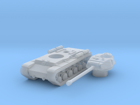 1/285 KV-122 in Smooth Fine Detail Plastic: Small