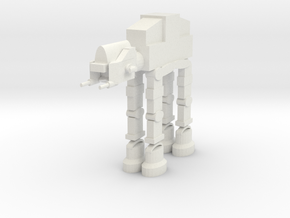 AT-AT in White Natural Versatile Plastic