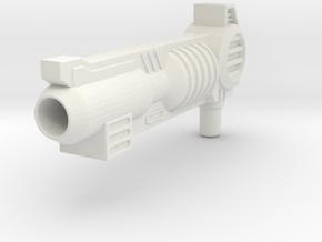 Armada Optimus Prime Gun For SC in White Natural Versatile Plastic